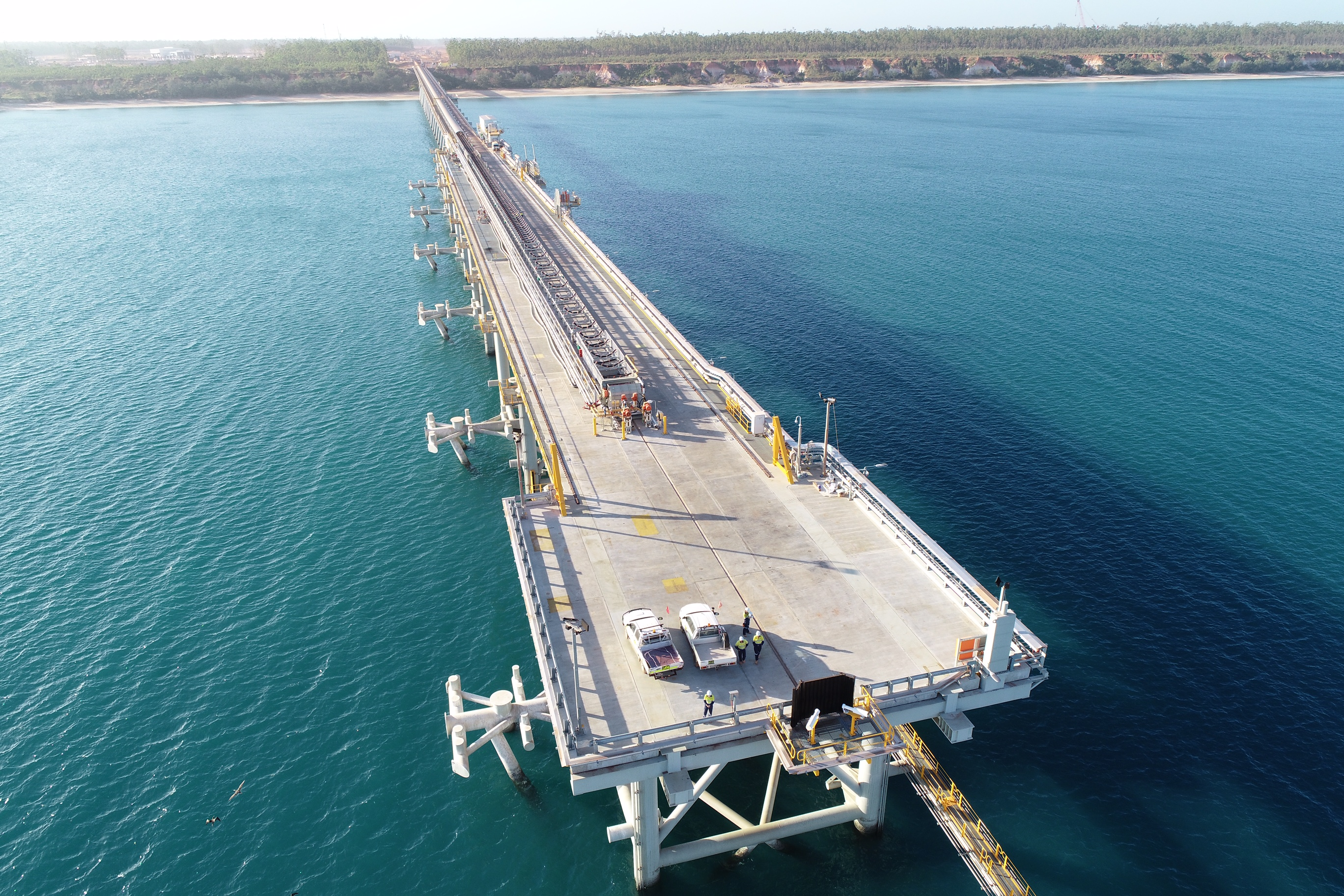 Jetty Construction Works