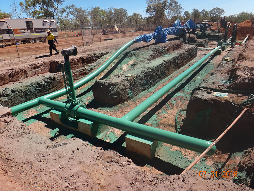 Amadeus Gas Pipeline Project Completion - McConnell Dowell